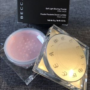 Becca soft blurring powder pink haze